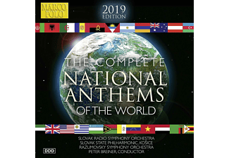Peter Breiner, Various Orchestras - The Complete National Anthems of the World  - (CD)