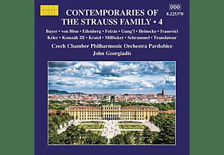 John Georgladis, Czech Chamber Po Pardubice - Contemporaries of the Strauss Family,Vol.4  - (CD)