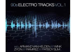VARIOUS - 90s Electro Tracks Vol.1  - (CD)