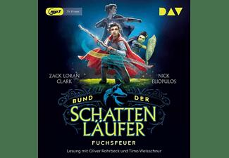 Clark,Zack Loran,  Eliopulos,Nick - Bund der Schattenläufer-Teil 1: Fuchsfeuer  - (MP3-CD)