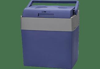 CLATRONIC KB 3714 Kühlbox (30 Liter, 12V Anschluss, Blau/Grau
