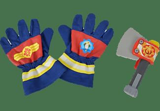 SIMBA TOYS Sam Feuerwehr Handschuhe und Axt Spielset Mehrfarbig