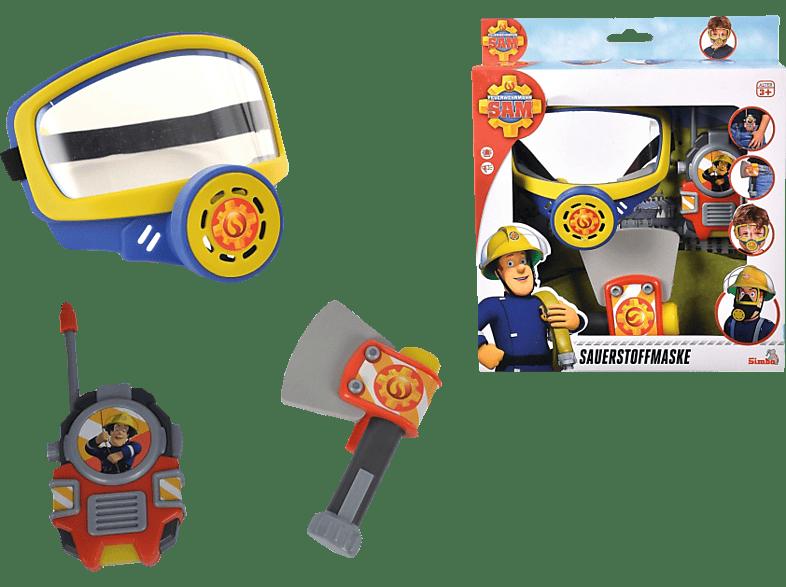 SIMBA TOYS Sam Feuerwehr Sauerstoffmaske Spielset, Mehrfarbig