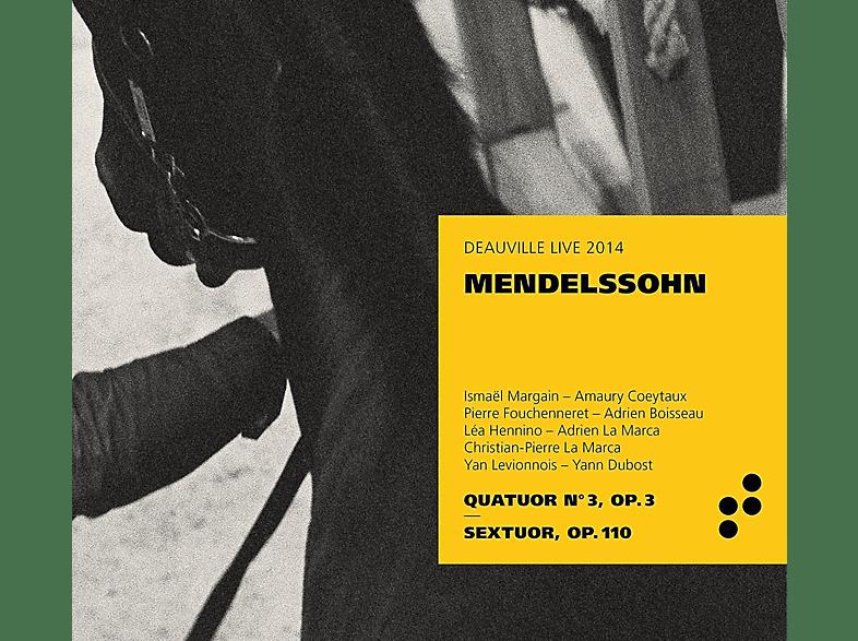 Ismael Margain, Lea Hennino, Yan Levionnois, Pierre Fouchenneret, Christian-pierre La Marca, Mendelssohn Bartholdy - Klavierquartett 3/Klaviersextett op.110 [CD]