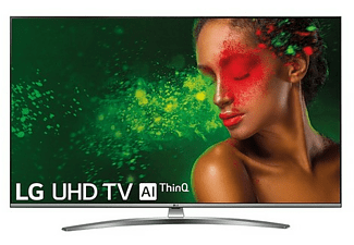 "TV LED 50"" - LG 50UM7600PLB, UHD 4K, Smart TV IA, Quad Core, Sonido DTS Virtual: X"
