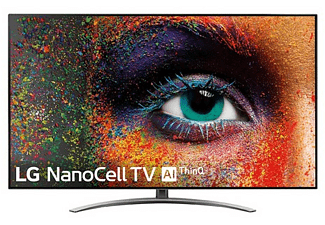 "TV LED 55"" - LG 55SM9010PLA, NanoCell 4K, Smart TV IA, Alpha 7 Gen.2, Full Array, DTS Virtual: X"