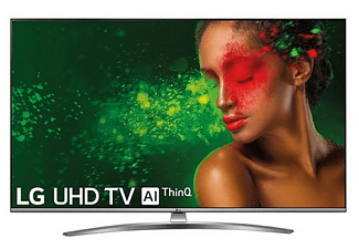 "TV LED 43"" - LG 43UM7600PLB, Panel IPS UHD 4K, Smart TV IA, Quad Core, Sonido DTS Virtual: X"