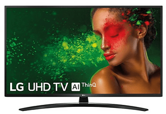 "TV LED 43"" - LG 43UM7450PLA, Panel IPS UHD 4K, Smart TV IA, Quad Core, Sonido DTS Virtual: X"