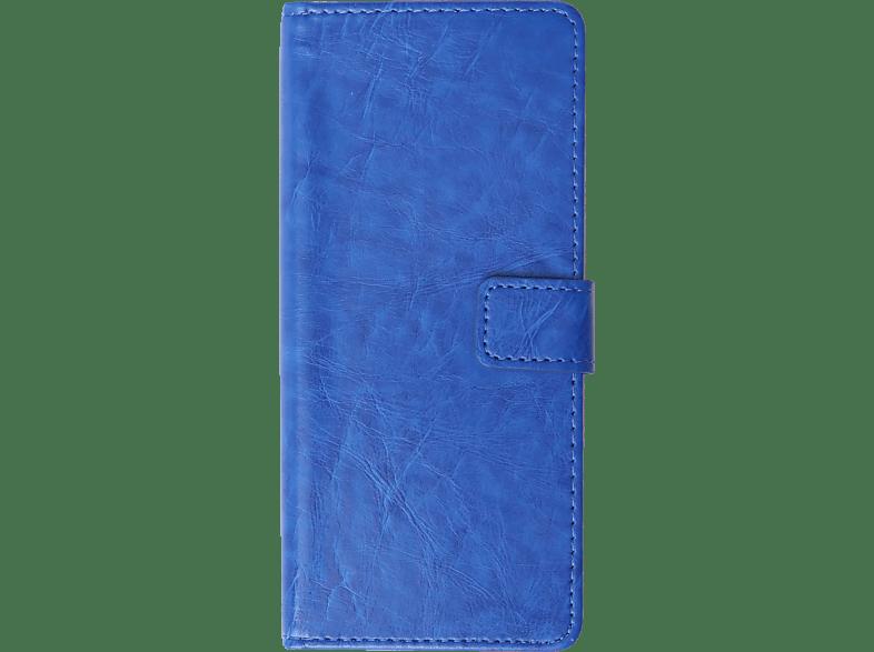 V-DESIGN BV 563 Bookcover Sony Xperia 10 Kunstleder Blau