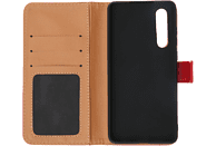 V-DESIGN BV 574 , Bookcover, Huawei, P30, Kunstleder, Rot