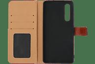 V-DESIGN BV 575 , Bookcover, Huawei, P30, Kunstleder, Braun