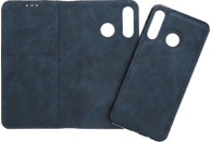 V-DESIGN V-2-1 316 , Bookcover, Huawei, P30 Lite, Kunstleder, Blau