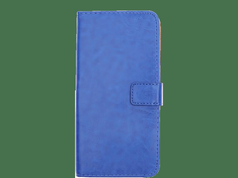 V-DESIGN BV 597 , Bookcover, Samsung, Galaxy A50, Kunstleder, Blau