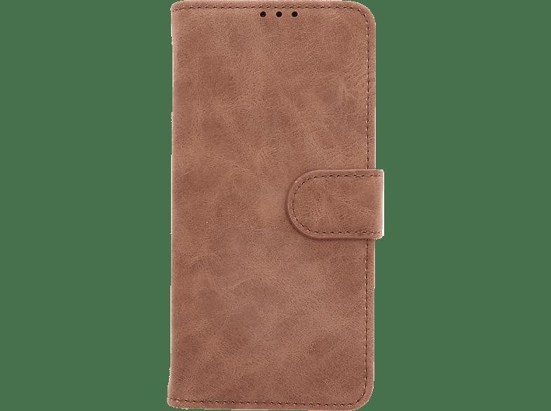 V-DESIGN V-2-1 317 , Bookcover, Huawei, P30 Lite, Kunstleder, Braun