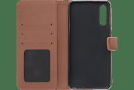 V-DESIGN BV 602 , Bookcover, Samsung, Galaxy A50, Kunstleder, Braun