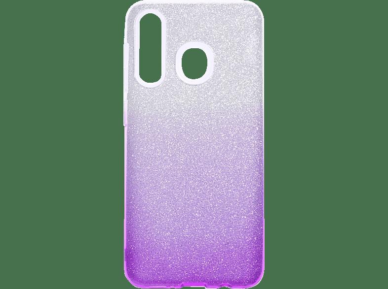 V-DESIGN VSP 146 , Backcover, Samsung, Galaxy A50, Plastik + Thermoplastisches Polyurethan, Violett