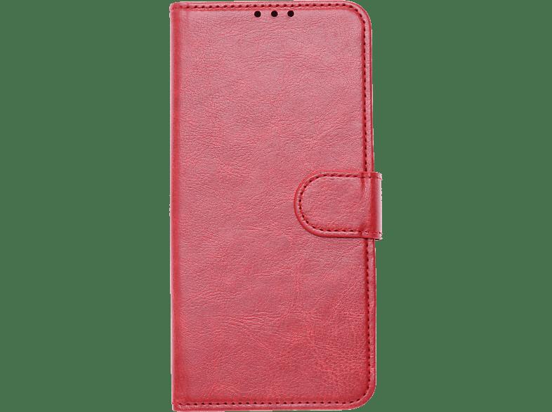 V-DESIGN V-2-1 332 , Bookcover, Samsung, Galaxy A50, Kunstleder, Rot