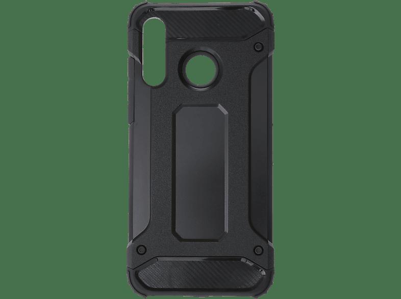 V-DESIGN VDR 091 , Backcover, Huawei, P30 Lite, Plastik + Thermoplastisches Polyurethan, Schwarz