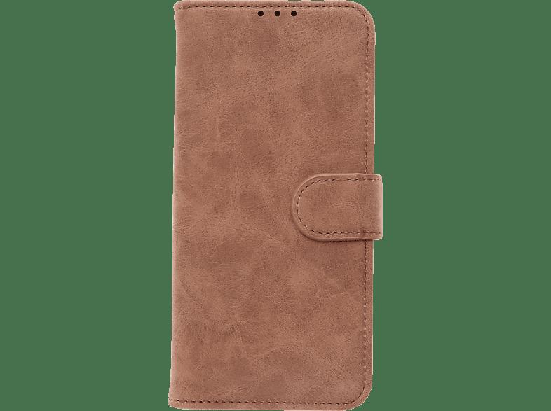 V-DESIGN V-2-1 335 , Bookcover, Samsung, Galaxy A50, Kunstleder, Braun