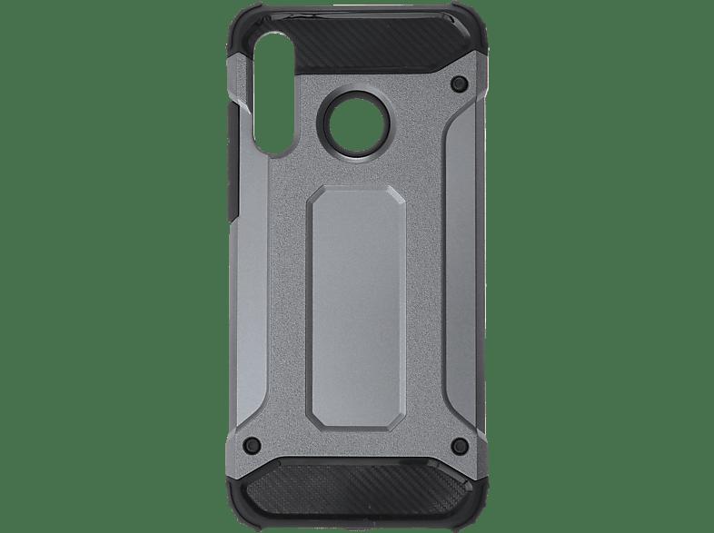 V-DESIGN VDR 092 , Backcover, Huawei, P30 Lite, Plastik + Thermoplastisches Polyurethan, Grau