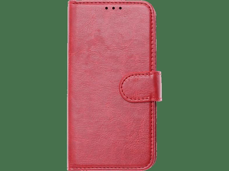 V-DESIGN V-2-1 373 Bookcover Motorola Moto G7 Play Kunstleder Rot