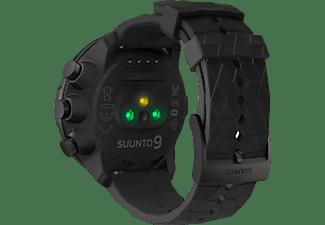 SUUNTO 9 Baro Smartwatch Glasfaserverstärktes Polyamid Silikon, 230 mm, Titan