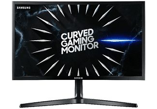 Monitor gaming - Samsung LC24RG50 24'', Curvo, Full HD, 4 ms, 144 Hz, Negro