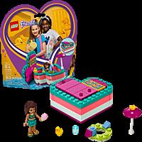 LEGO Andreas sommerliche Herzbox Bausatz, Mehrfarbig