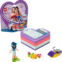 LEGO Emmas sommerliche Herzbox Bausatz, Mehrfarbig