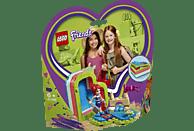 LEGO Mias sommerliche Herzbox Bausatz, Mehrfarbig