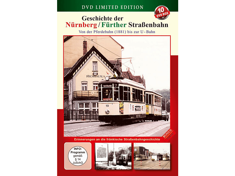Geschichte der Nürnberg / Fürther Straßenbahn [DVD]