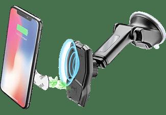 CELLULAR LINE Magnetische Handyhalterung Pilot Force Wireless für das Auto mit kabelloser Aufladung