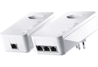 DEVOLO dLAN 1200 triple+ Starter Kit - Adaptateur Powerline (Blanc)