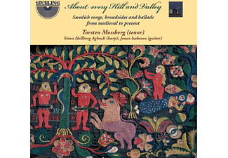 Torsten Mossberg, Stina Hellberg Agback, Jones Isaksson - About every Hill and Valley  - (CD)