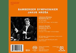 Bamberger Symphoniker - Brahms: Sinfonie 3/Dvorak: Sinfonie 8  - (CD)