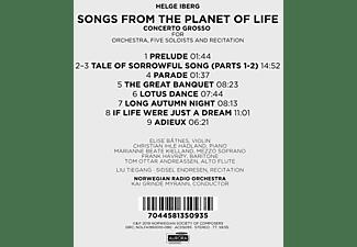 Kai Grinde Myrann, Norwegian Radio Orchestra - Songs from the Planet of Life  - (CD)