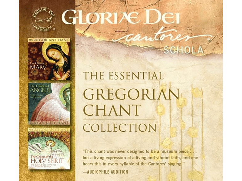 Gloriæ Dei Cantores Schola - The Essential Gregorian Chant Collection [CD]