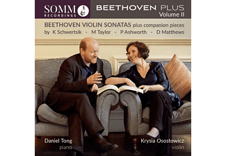 Krysia Osostowicz, Daniel Tong - Beethoven Plus,Vol.2  - (CD)