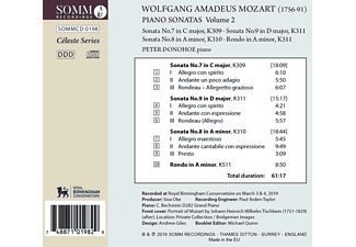 Peter Donohoe - Klaviersonaten Vol.2  - (CD)