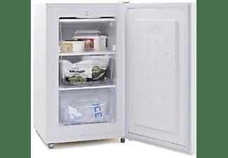 Congelador bajo encimera - OK OFZ 21123A1, 74 litros, 42 dB, 3 cajones, Altura 84.7 cm, Blanco