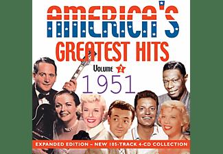 VARIOUS - America's Greatest Hits 1951-Vol.2  - (CD)