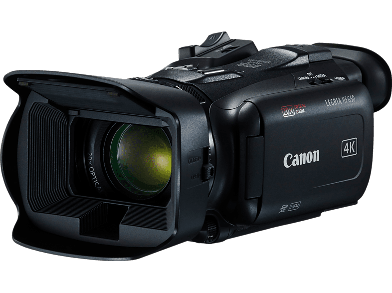 CANON Legria HFG50 Camcorder 4K, Full HD, CMOS 21.14 Megapixel, 20-fach opt. Zoom