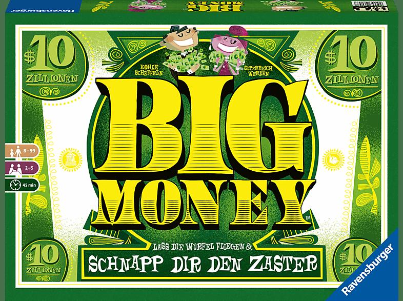 RAVENSBURGER Big Money Gesellschaftsspiele, Mehrfarbig