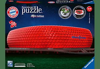 RAVENSBURGER Allianz Arena bei Nacht 3D Puzzle Mehrfarbig