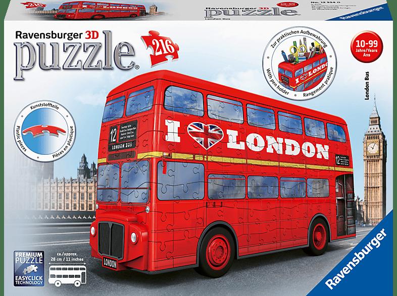 RAVENSBURGER London Bus Puzzle, Mehrfarbig