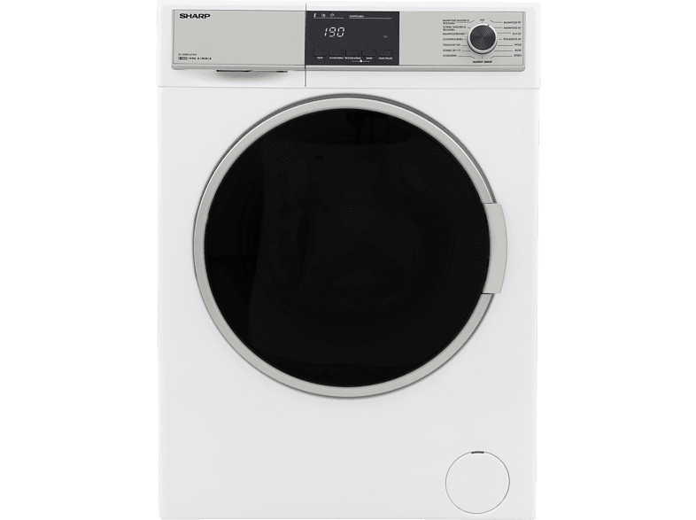 SHARP ES-HDB8147W0-DE WaschTrockner (8 kg/6 kg, 1400 U/Min., A)