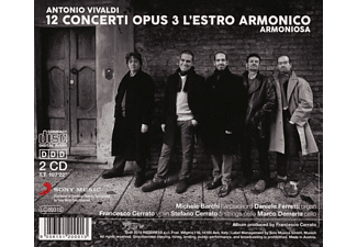 Armoniosa - Vivaldi: L'estro armonico-12 Concerti,op.3  - (CD)
