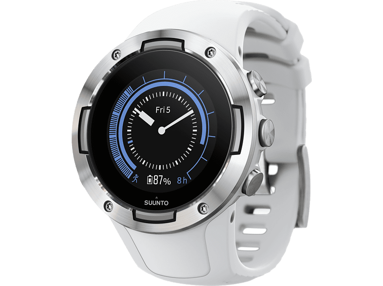 SUUNTO  5 G1 Smartwatch, Silikon, 235 mm, Weiß