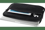 HAMA Comfort Notebooktasche, Sleeve, 10.2 Zoll, Schwarz