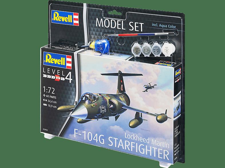 """REVELL Lockheed F-104G """"Starfighter"""" Bausatz, Mehrfarbig"""